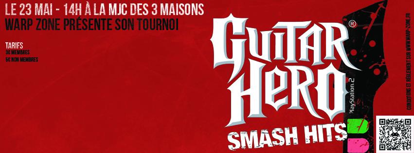 Règle et déroulement du tournoi Guitar Hero du 23 Mai 2015