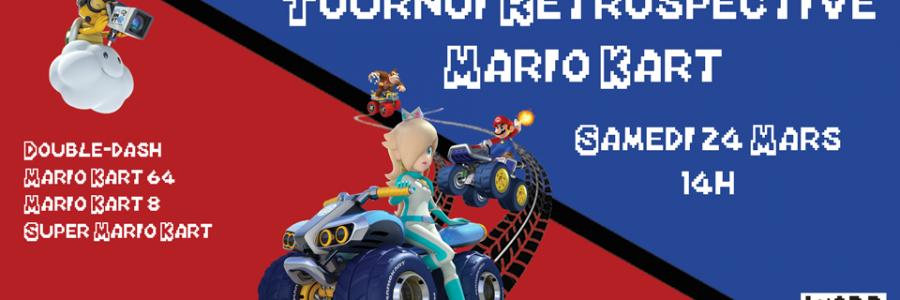 Tournoi rétrospective Mario Kart
