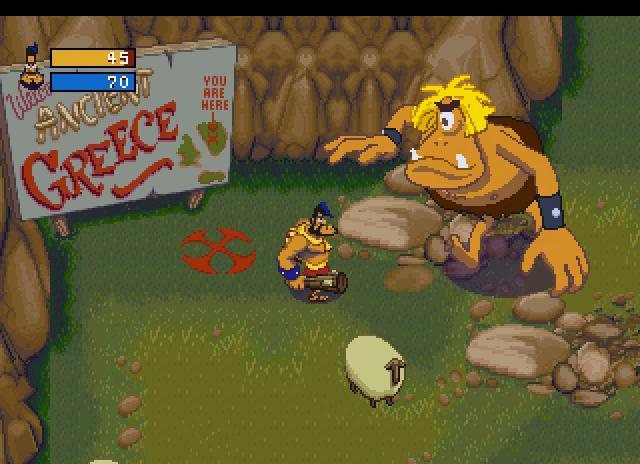 image de gameplay du jeu vidéo de Herc's adventures