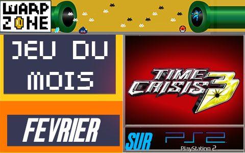 Jeu du mois de Février 2020: Time Crisis 3 (PS2)