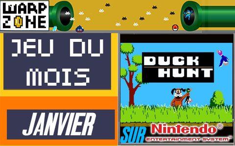 Jeu du mois de Janvier 2020: Duck Hunt (NES)