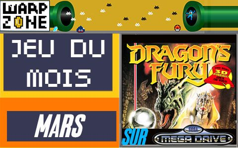 Jeu du mois de Mars 2020: Dragon's fury (Megadrive)