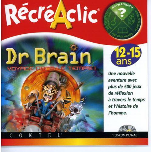 Jeu coup de coeur Warp Zone Nancy - Dr Brain voyage dans le temps