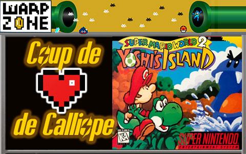 Jeu vidéo coup de cœur de Calliope: Yoshi's Island (SNES)