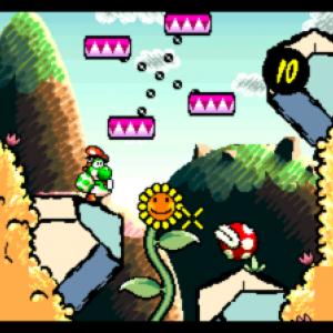 Yoshi's Island - warp zone - jeu coup de coeur du mois de mars