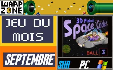 Jeu du mois de Septembre 2020: 3D Pinball Space Cadet (PC)