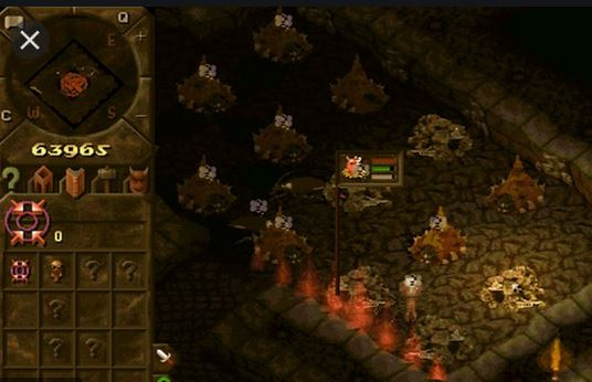 Dungeon Keeper - Antre des monstres