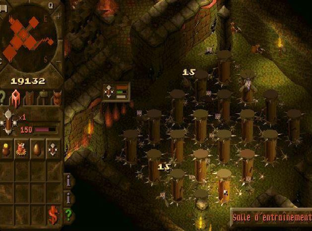 Dungeon Keeper -Salle d'entraînement