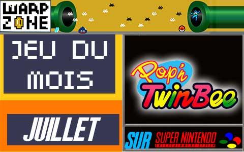 Jeu du mois de Juillet 2020: Pop'N Twin'Bee (Super Nintendo)