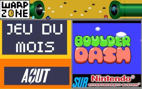 Jeu du mois d'Août 2020: Boulder Dash (Nintendo Entertainment System)